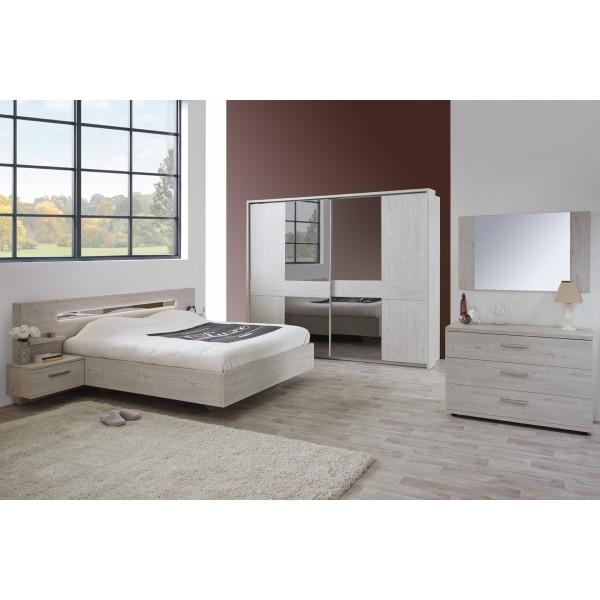 Joyce en teinte pesaro d co meubles for Chambre a coucher qualite