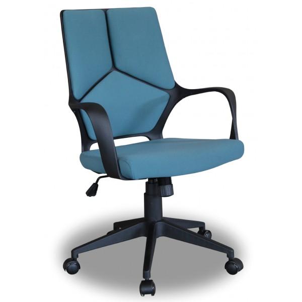 Chaise De Bureau Tim Tissu Bleu D Co Meubles